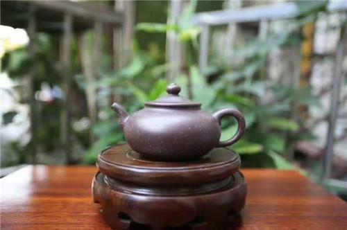 高级工艺美术师丁亦琴紫砂壶作品《金沙复古》